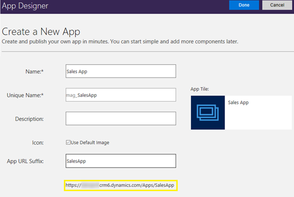 image thumb 1 How to Create App Modules Using App Designer in Dynamics 365