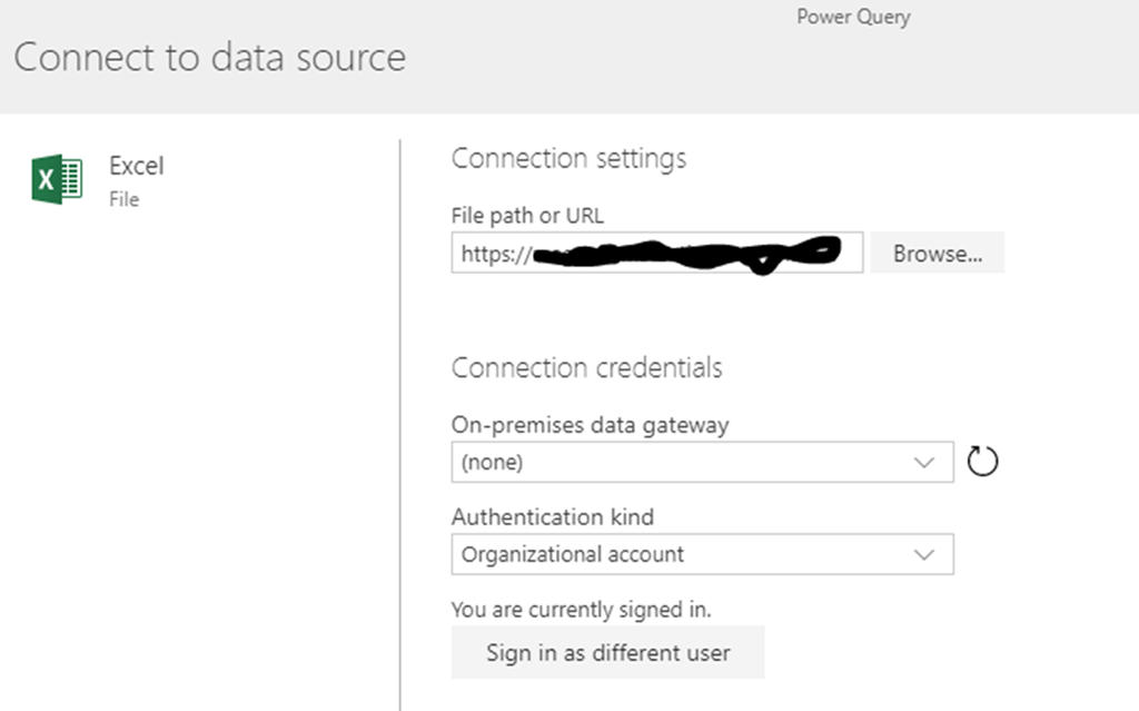 Importing data from Excel into the Common Data Services