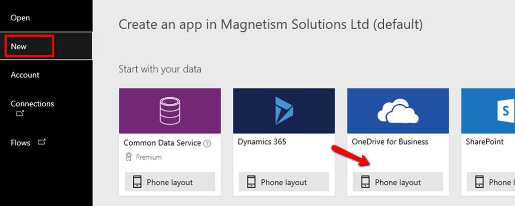 Connect PowerApps to an Excel Sheet | Magnetism Solutions | NZ