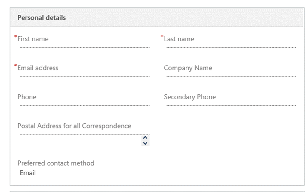 Displaying Entity Forms Inside Microsoft Dynamics 365 Portal