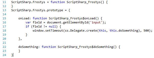 Script# (C# to Javascript) Meets Dynamics CRM 2011