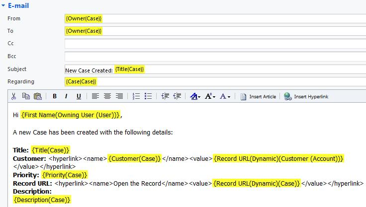 Record Hyperlinks Available in Dynamics CRM 2011 Workflows