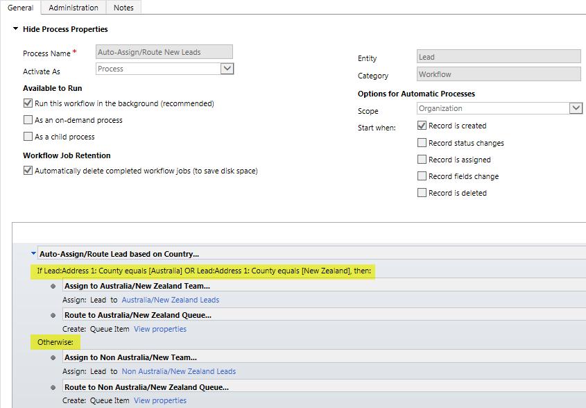 Microsoft Dynamics CRM 2013 Service Pack 1 – Workflow