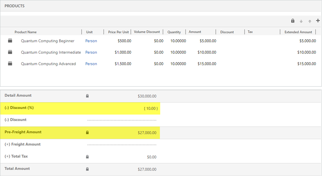 Adding Manual Discounts to Quotes and Orders in Dynamics 365