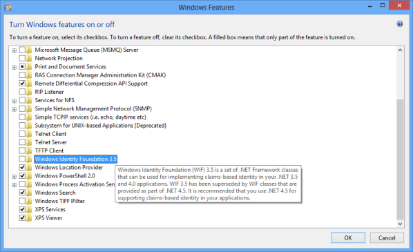 Microsoft Dynamics CRM 2011 - Failed to find Windows Identity Foundation setup package (Windows ...