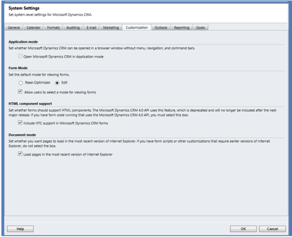 Microsoft Dynamics CRM 2011 - Include HTC Support in CRM forms