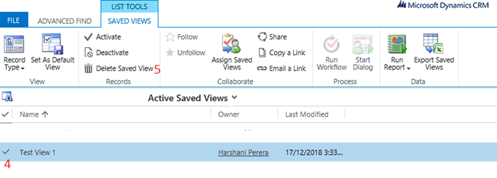 How to Create, Share, Delete and Set a Personal View to