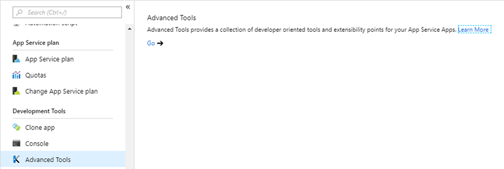 Working with the settings job file of an Azure Web Job