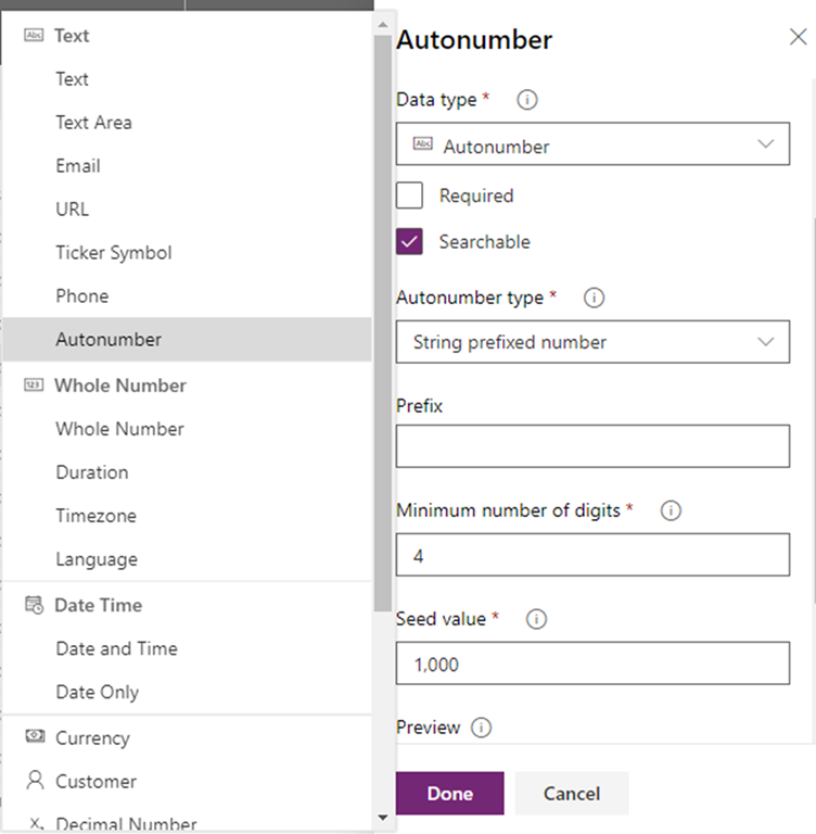 Autonumbering in Dynamics 365 CRM v9 with the new PowerApps