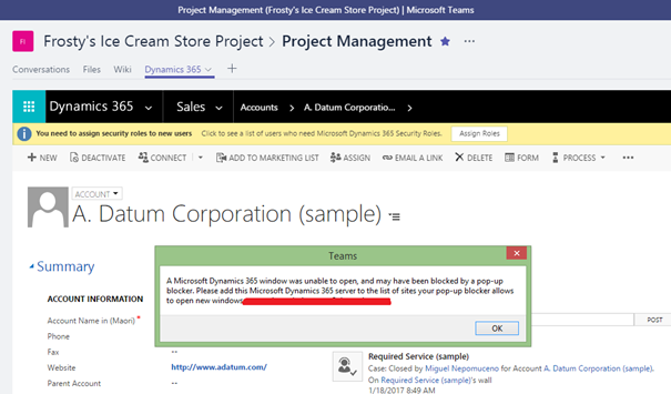Microsoft Teams and its Impact with Microsoft Dynamics 365