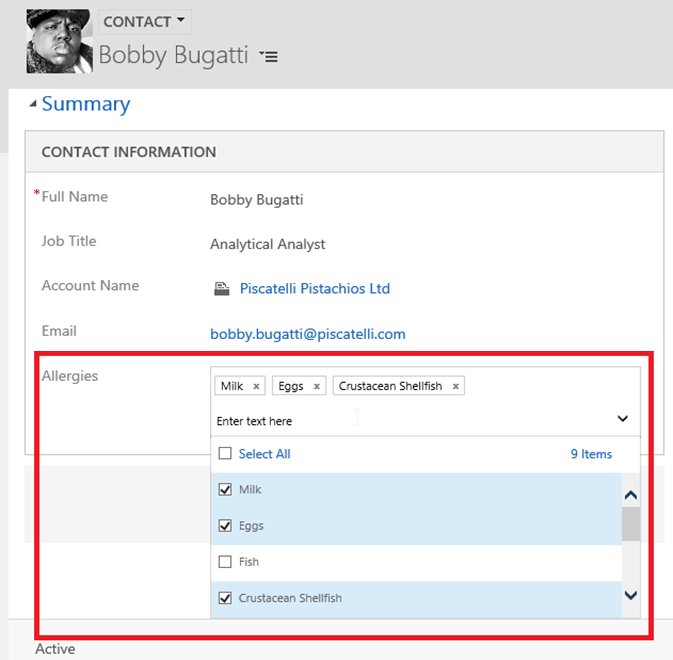 Dynamics 365 July 2017 Update - Introduction to Multi-Select