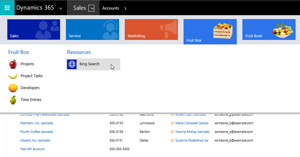 How to Embed Websites using IFrames from the Dynamics 365 Sitemap