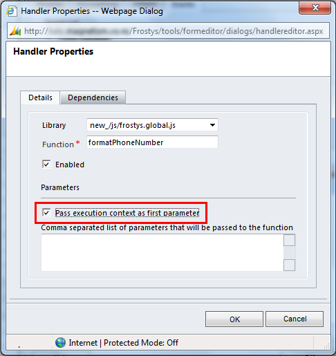 Dynamics CRM 2011 JavaScript Get Attribute from OnChange
