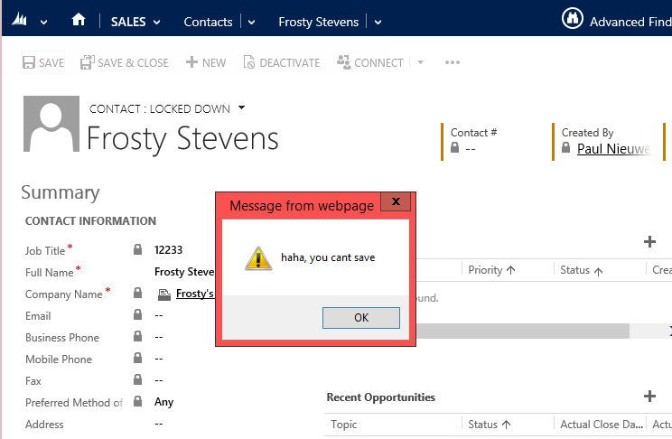 Activate God Mode in CRM 2013 - Don't Let Your Users See This