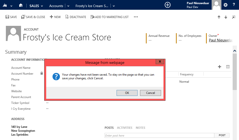 CRM 2013 - What Does Disabling Auto Save Actually Do
