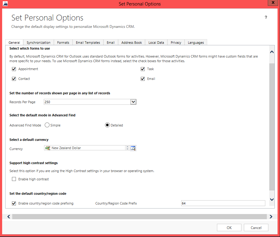 Install and Configure Dynamics CRM 2013 for Outlook 2013 | Magnetism