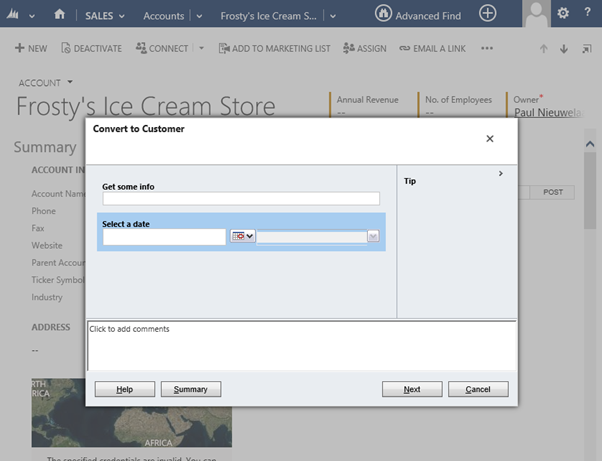 Run Dialog in CRM 2015 Easily from JavaScript Library