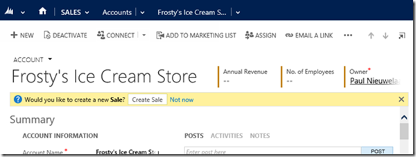 Dynamics CRM 2015 JavaScript Form Notifications on Steroids