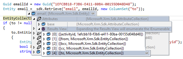 Working with Dynamics CRM Activity Party Lists in C# Plugins