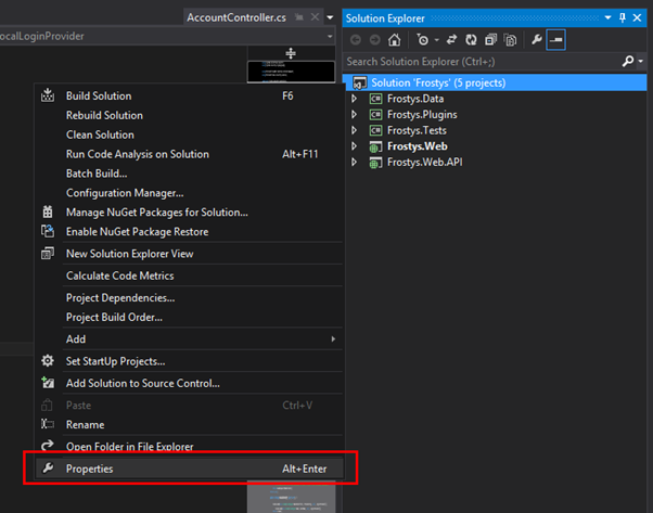 Debug Multiple Projects at the Same Time in Visual Studio