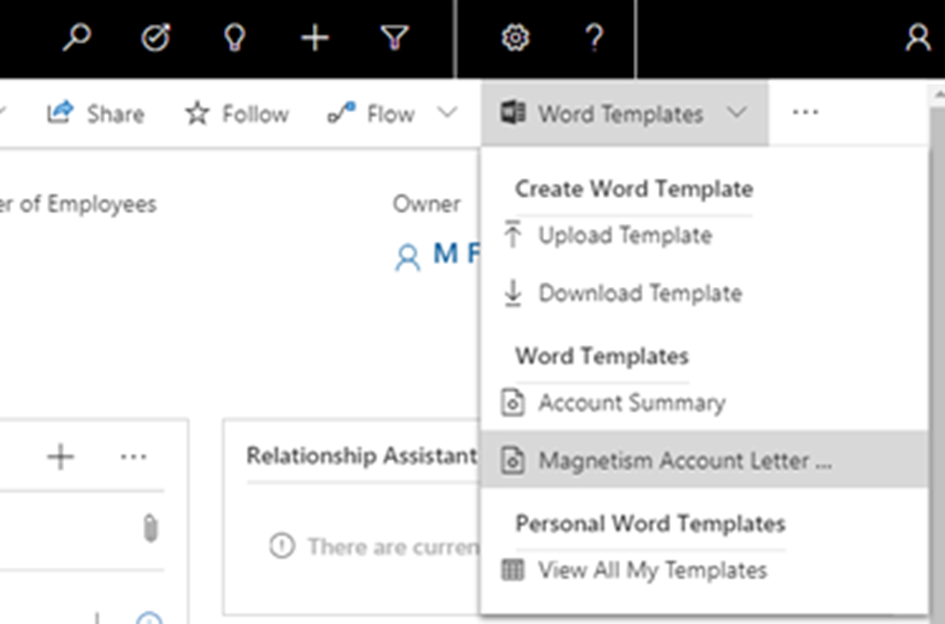 Using Document Templates in Dynamics 365 | Magnetism