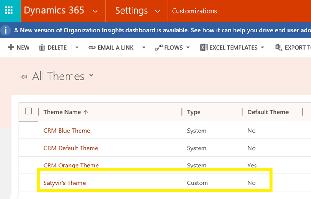How to Export and Import Themes in Dynamics 365 | Magnetism